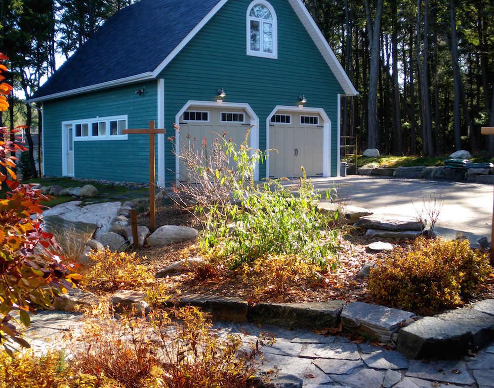 Landscape construction bowman custom building for Landscape construction